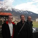 od leve proti desni Tomaž Lenaršič (2), Peter Skrbiš(1), Jože Berdon (3)