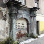 Hotel Pošta, stari vhod.