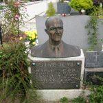 Spomenik Mihu Čopu - Strojevemu na grobu.