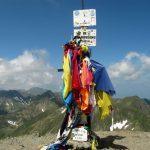53. Moldoveanu 2544 m, najvišja gora Romunije