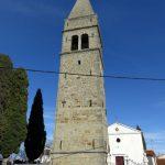 55. zvonik ob cerkvi v Novi vasi