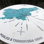 19. Razgledna plošča na Trdinovem vrhu